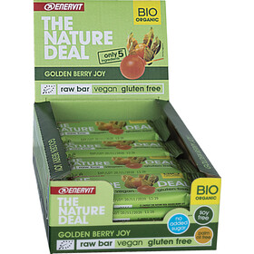 Enervit Nature Deal RawBar Box 20 x 30g, golden berry joy